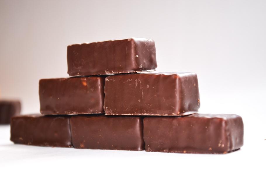 巧克力,糖果,巧克力糖果,甜,黑色