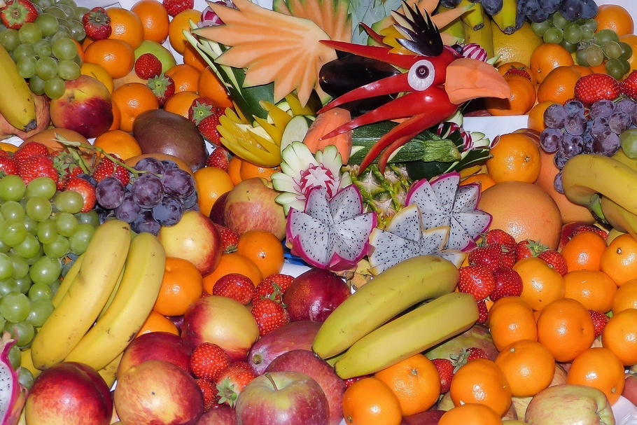 水果,水果,柑橘类水果,维生素,橙